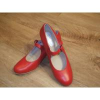 Menkes Red Leather Flamenco Shoe